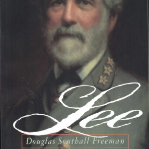 front cover of douglas freemans landmark biography - lee