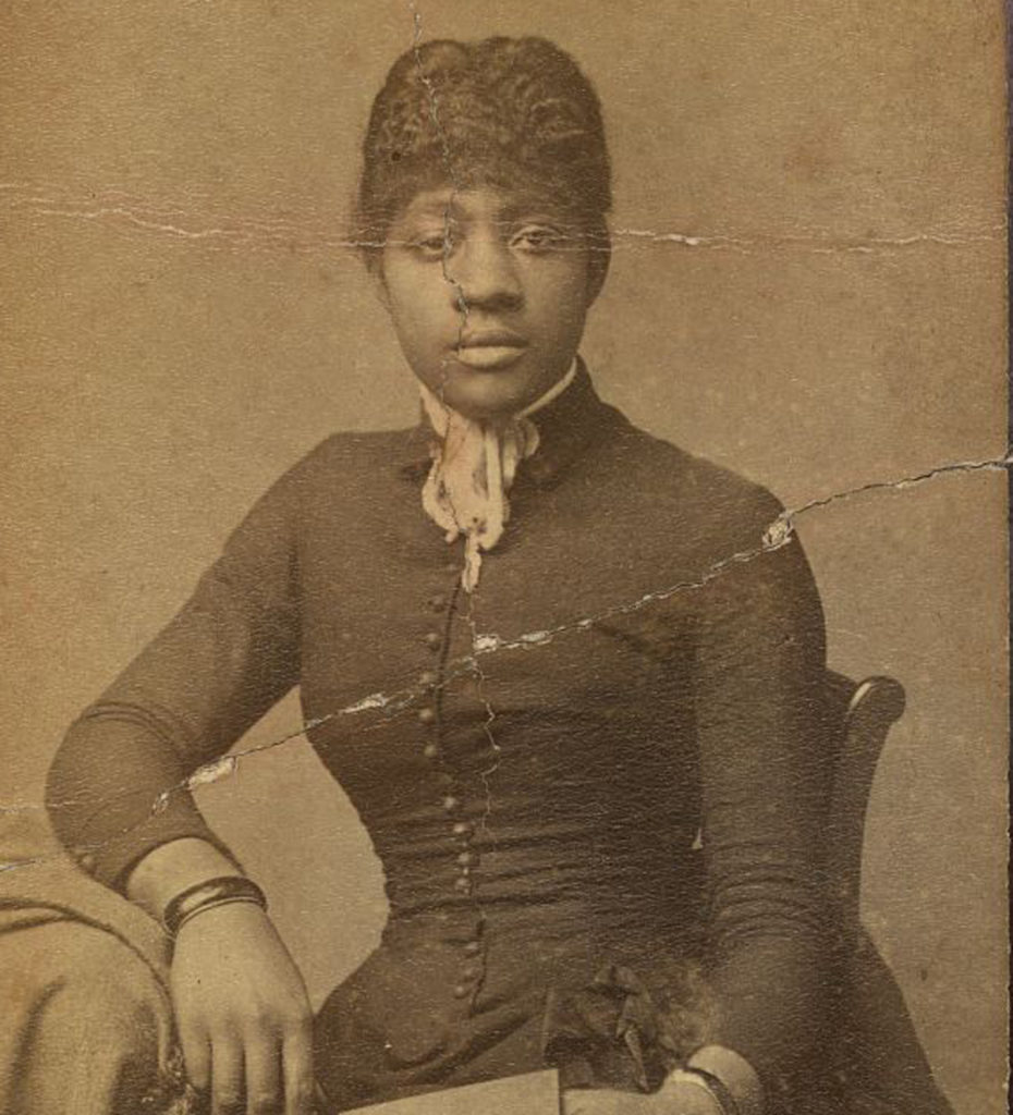 Historical photo of a unidentified African American Woman from Lynchburg