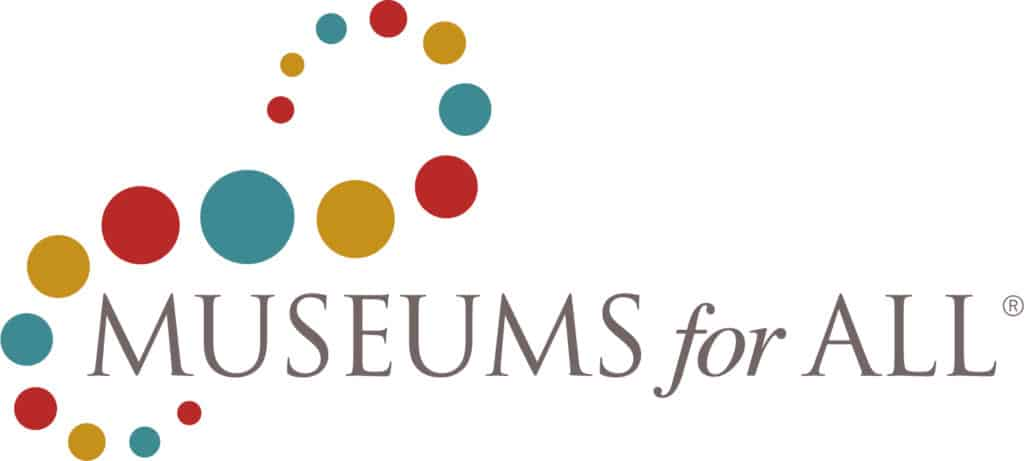 Museums for All logo.